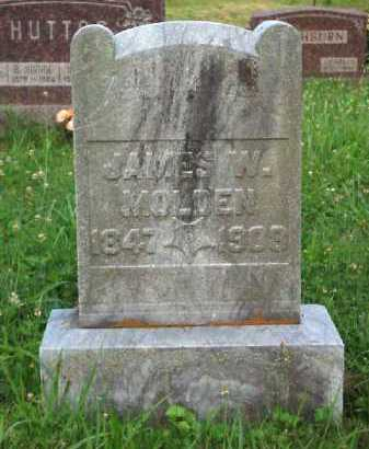 MOLDEN, JAMES W. - Meigs County, Ohio | JAMES W. MOLDEN - Ohio Gravestone Photos