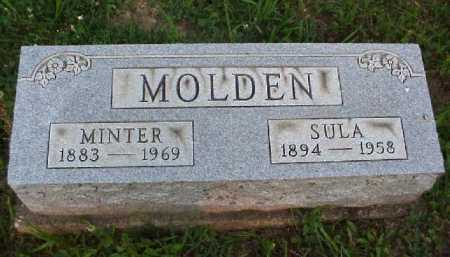 MOLDEN, SULA - Meigs County, Ohio | SULA MOLDEN - Ohio Gravestone Photos