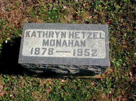 HETZEL MONAHAN, KATHRYN - Meigs County, Ohio | KATHRYN HETZEL MONAHAN - Ohio Gravestone Photos