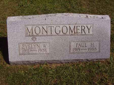 WARD MONTGOMERY, EVELYN W. - Meigs County, Ohio | EVELYN W. WARD MONTGOMERY - Ohio Gravestone Photos