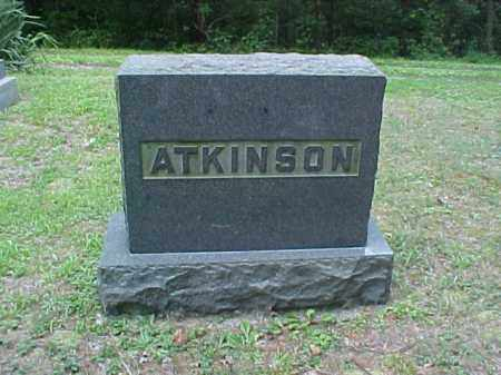 MONUMENT, ATKINSON - Meigs County, Ohio | ATKINSON MONUMENT - Ohio Gravestone Photos