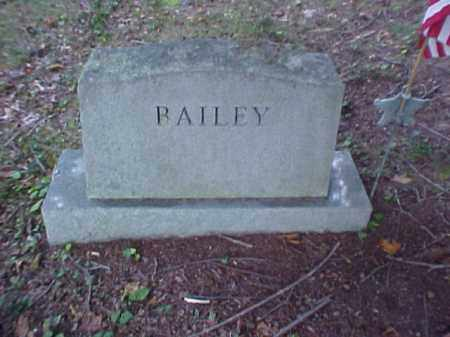 MONUMENT, BAILEY - Meigs County, Ohio | BAILEY MONUMENT - Ohio Gravestone Photos