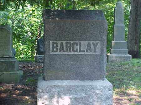 MONUMENT, BARCLAY - Meigs County, Ohio | BARCLAY MONUMENT - Ohio Gravestone Photos