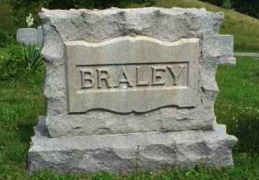MONUMENT, BRALEY - Meigs County, Ohio | BRALEY MONUMENT - Ohio Gravestone Photos