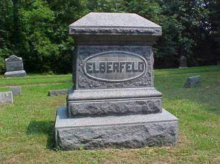 MONUMENT, ELBERFELD - Meigs County, Ohio | ELBERFELD MONUMENT - Ohio Gravestone Photos
