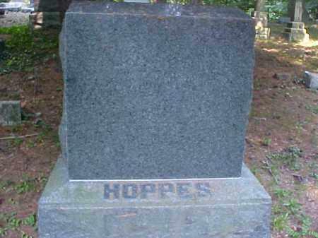 MONUMENT, HOPPES - Meigs County, Ohio | HOPPES MONUMENT - Ohio Gravestone Photos