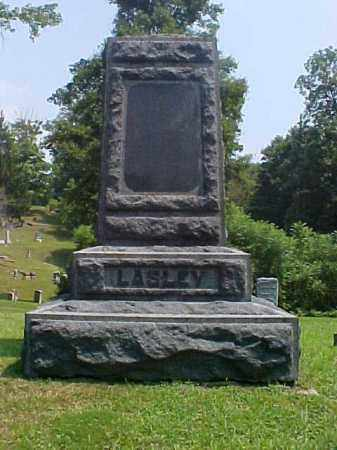 MONUMENT, LASLEY - Meigs County, Ohio | LASLEY MONUMENT - Ohio Gravestone Photos
