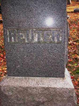 MONUMENT, REUTER - Meigs County, Ohio | REUTER MONUMENT - Ohio Gravestone Photos