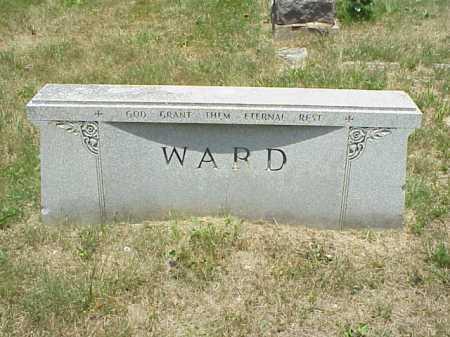 WARD, MONUMENT - Meigs County, Ohio | MONUMENT WARD - Ohio Gravestone Photos