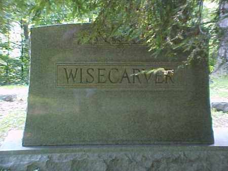 MONUMENT, WISECARVER - Meigs County, Ohio | WISECARVER MONUMENT - Ohio Gravestone Photos