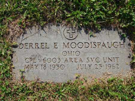 MOODISPAUGH, DERREL E - Meigs County, Ohio | DERREL E MOODISPAUGH - Ohio Gravestone Photos