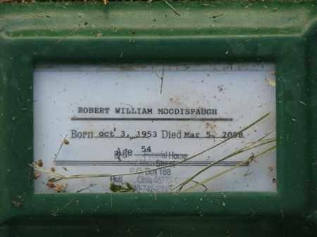 MOODISPAUGH, ROBERT WILLIAM - Meigs County, Ohio   ROBERT WILLIAM MOODISPAUGH - Ohio Gravestone Photos