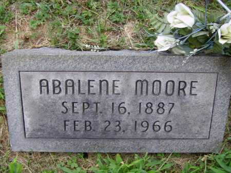 MOORE, ABALENE - Meigs County, Ohio | ABALENE MOORE - Ohio Gravestone Photos