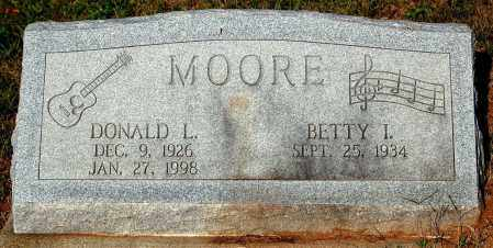 MOORE, BETTY I. - Meigs County, Ohio | BETTY I. MOORE - Ohio Gravestone Photos
