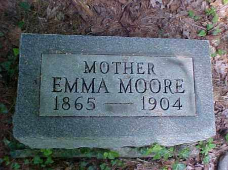 MOORE, EMMA - Meigs County, Ohio | EMMA MOORE - Ohio Gravestone Photos