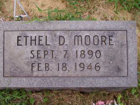 MOORE, ETHEL DOUGLAS - Meigs County, Ohio | ETHEL DOUGLAS MOORE - Ohio Gravestone Photos