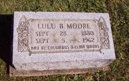 MOORE, LULU B. - Meigs County, Ohio | LULU B. MOORE - Ohio Gravestone Photos