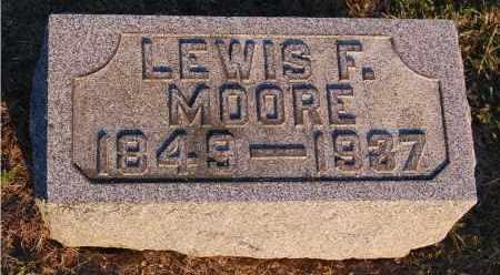 MOORE, LEWIS F. - Meigs County, Ohio | LEWIS F. MOORE - Ohio Gravestone Photos