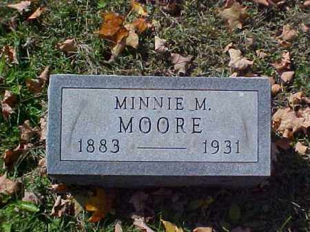 MOORE, MINNIE M. - Meigs County, Ohio | MINNIE M. MOORE - Ohio Gravestone Photos
