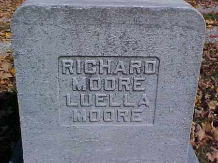 MOORE, LUELLA - Meigs County, Ohio | LUELLA MOORE - Ohio Gravestone Photos