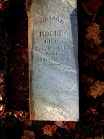 MOORE, WILLIAM - Meigs County, Ohio | WILLIAM MOORE - Ohio Gravestone Photos