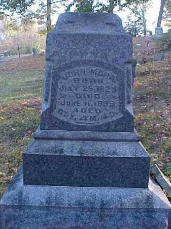 MORA, JOHN - Meigs County, Ohio | JOHN MORA - Ohio Gravestone Photos