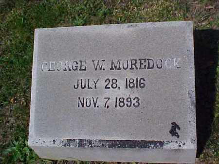 MOREDOCK, GEORGE W. - Meigs County, Ohio | GEORGE W. MOREDOCK - Ohio Gravestone Photos