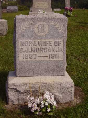 NELSON MORGAN, CLARA NORA - Meigs County, Ohio | CLARA NORA NELSON MORGAN - Ohio Gravestone Photos