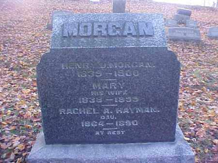 MORGAN, MARY - Meigs County, Ohio | MARY MORGAN - Ohio Gravestone Photos
