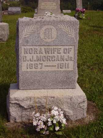 MORGAN, NORA - Meigs County, Ohio | NORA MORGAN - Ohio Gravestone Photos