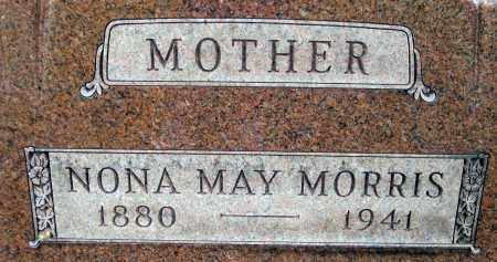 MORRIS, NONA MAY - Meigs County, Ohio | NONA MAY MORRIS - Ohio Gravestone Photos