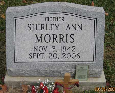 MORRIS, SHIRLEY ANN - Meigs County, Ohio | SHIRLEY ANN MORRIS - Ohio Gravestone Photos