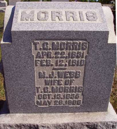WEBB MORRIS, MARGARET J. - Meigs County, Ohio | MARGARET J. WEBB MORRIS - Ohio Gravestone Photos