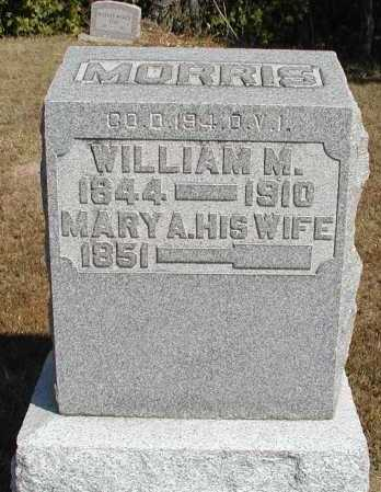 MORRIS, WILLIAM M. - Meigs County, Ohio | WILLIAM M. MORRIS - Ohio Gravestone Photos