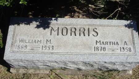 MORRIS, MARTHA A. - Meigs County, Ohio | MARTHA A. MORRIS - Ohio Gravestone Photos