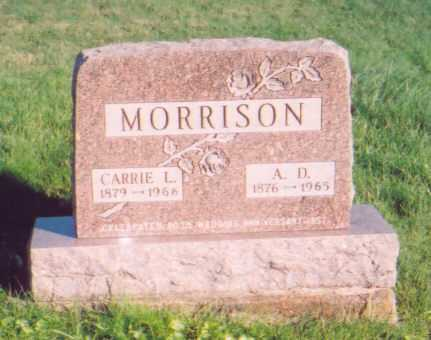 MORRISON, A. D. - Meigs County, Ohio | A. D. MORRISON - Ohio Gravestone Photos