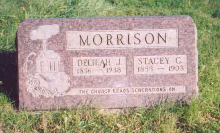 BRATTON MORRISON, DELILAH J. - Meigs County, Ohio | DELILAH J. BRATTON MORRISON - Ohio Gravestone Photos