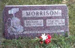 MORRISON, DELILAH J. - Meigs County, Ohio | DELILAH J. MORRISON - Ohio Gravestone Photos