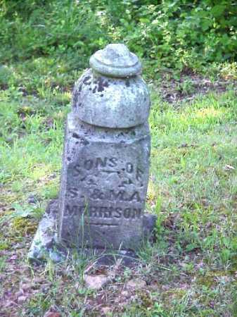 MORRISON, SONS - Meigs County, Ohio | SONS MORRISON - Ohio Gravestone Photos