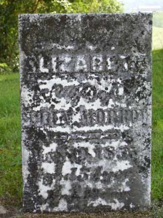MORROW, ELIZABETH - Meigs County, Ohio | ELIZABETH MORROW - Ohio Gravestone Photos