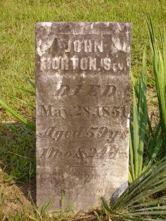 MORTON, JOHN SR. - Meigs County, Ohio | JOHN SR. MORTON - Ohio Gravestone Photos