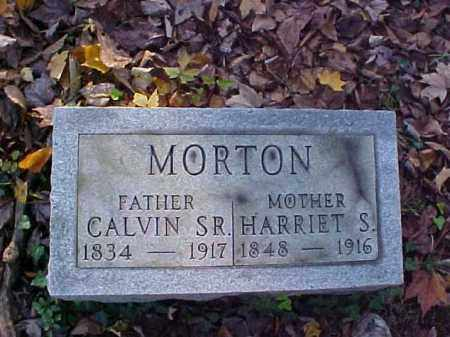 MORTON, CALVIN, SR. - Meigs County, Ohio | CALVIN, SR. MORTON - Ohio Gravestone Photos