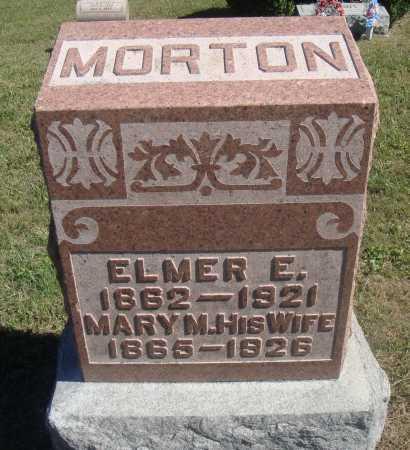 WOOD MORTON, MARY MANDANA - Meigs County, Ohio | MARY MANDANA WOOD MORTON - Ohio Gravestone Photos