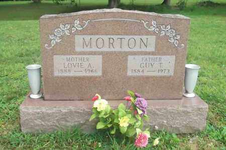 ARTHUR MORTON, LOVIE AGNES - Meigs County, Ohio | LOVIE AGNES ARTHUR MORTON - Ohio Gravestone Photos