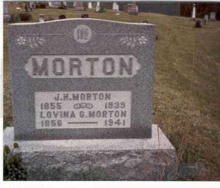 MORTON, J.H. - Meigs County, Ohio | J.H. MORTON - Ohio Gravestone Photos