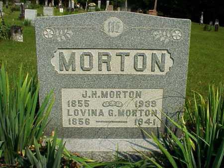 MORTON, LOVINA G. - Meigs County, Ohio | LOVINA G. MORTON - Ohio Gravestone Photos