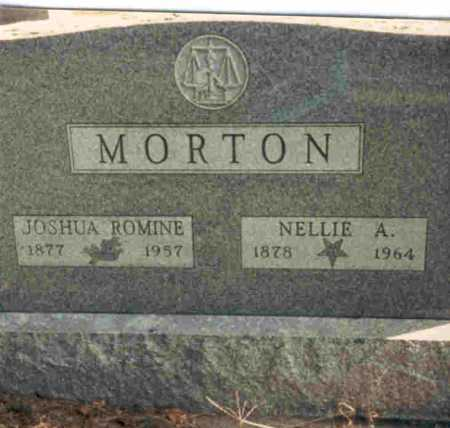 MORTON, JOSHUA ROMINE - Meigs County, Ohio | JOSHUA ROMINE MORTON - Ohio Gravestone Photos