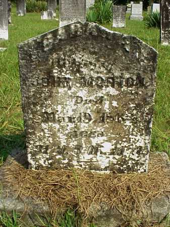 TAYLOR MORTON, SARAH ANN - Meigs County, Ohio | SARAH ANN TAYLOR MORTON - Ohio Gravestone Photos