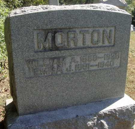 DILWORTH MORTON, EMMA JANE - Meigs County, Ohio | EMMA JANE DILWORTH MORTON - Ohio Gravestone Photos