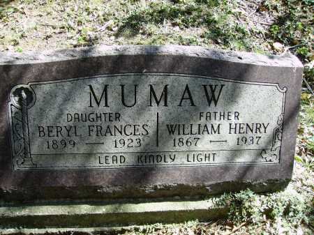 MUMAW, BERYL FRANCES - Meigs County, Ohio | BERYL FRANCES MUMAW - Ohio Gravestone Photos